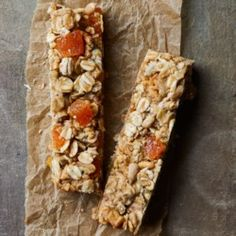Apricot-Sunflower Granola Bars - EatingWell.com