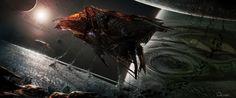 Ender's Game Concept Art by Robert Simons