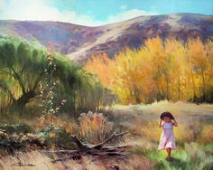 Effervescence, framed art print from Steve Henderson Collections, celebrating the joy of childhood, growing up in the country, and the beauty of innocence. Framed Art, Framed Prints, Wall Art, Canvas Art, Canvas Prints, Art Prints, 5d Diamond Painting, Autumn Trees, Autumn Fall