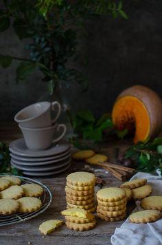 Galletas de calabaza y especias {Workshop con Eva Kosmas} | Pumpkin and spices shortbread cookies http://saboresymomentos.es | https://lomejordelaweb.es/