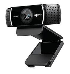 Logitech C922 Pro Stream Webcam – 1080p/30FPS ou 720p/60FPS avec Microphone et Trépied ajustable, Noir: • Diffusion Full HD 1080p à 30 FPS…