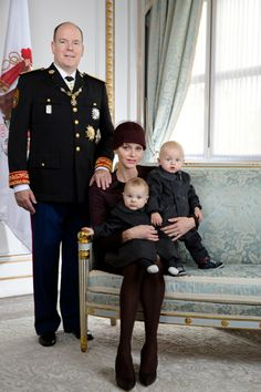 New Photos of Princess Charlene and Princely Family taken by Christopher Morris [x]