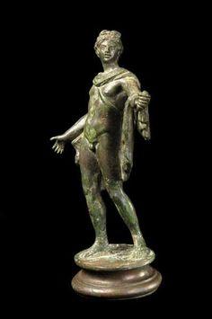 Bronze Statue of the Apollo Belvedere - Origin: Mediterranean Circa: 100 AD to 300 AD