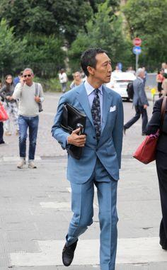 http://chicerman.com beyondfabric: Mr. Yasuto Kamoshita Ph: Beyond Fabric #MENSUIT #TAILORSUIT