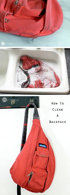 Don't replace last year's backpack just because it looks a bit grimy. These cleaning instructions will have that pack looking new again in no time!