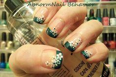 Abnorm Nail Behavior: Flower French Tip Nails