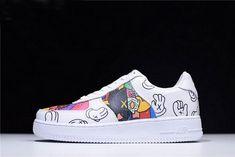 3a2cdd18c657b Original Supreme x Kaws x Nike Air Force 1 Mid Low White Graffiti For Sale  - ishoesdesign