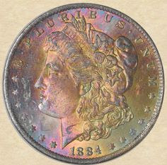 1884-O Morgan Dollar obverse