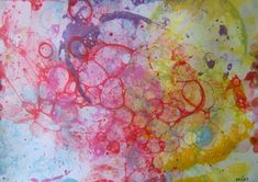 Mýdlové bublinky | Výtvarná výchova Painting, Color, Experiment, Scrapbooking, Tutorials, Painting Art, Colour, Paintings, Scrapbooks