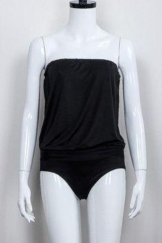 Plus Size 2017 Women Solid Bikini Sexy Wrapped Chest Strapless Romper Beachwear Swimming Bathing Suit Swimwear Ladies Swimsuit