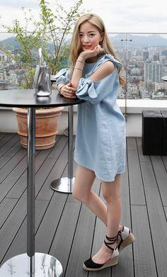 Korean's Women Fashion Dahong