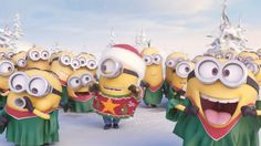 Minions Singing Jingle Bell - Merry Christmas 2014. Youtube video