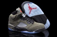 the best attitude 686eb b0f4e Find Nike Air Jordan 5 Mens Fire Red Medium Olive Black Suede Shoes New  online or in Footlocker. Shop Top Brands and the latest styles Nike Air  Jordan 5 ...