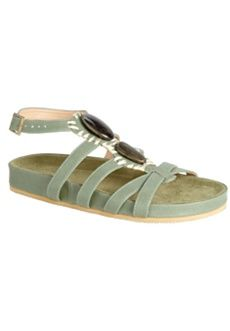 Raine Sandal by Comfortview (GREEN,9 WW) $64.99