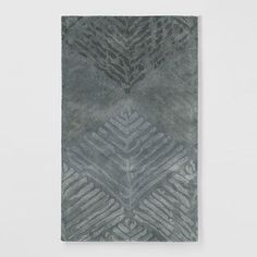 Nordic Diamond Wool Rug #WestElm