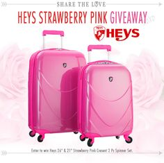 http://www.luggagefactory.com/giveaways  to enter, Its Free , no purchases needed and we cover the shipping cost. *Scouts Honor*