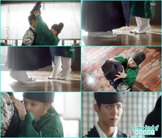 ra on tip toed to put the cap on crown prince and fell funny scene- Love in The…