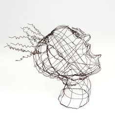 Art At Woodstock: Wire Busts