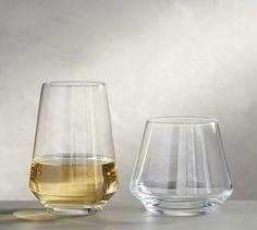 Schott Zwiesel Taste Stemless Wine Glasses, Set of 6 #potterybarn