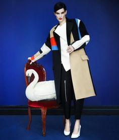 'the art of fashion' design: céline photo: erik madigan heck @Neiman Marcus
