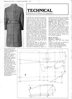 The DB Greatcoat - The Coatmaker's Forum Coat Patterns, Clothing Patterns, Sewing Patterns, Suit Pattern, Jacket Pattern, Sewing Men, Sewing Clothes, Corset Sewing Pattern, Pattern Draping