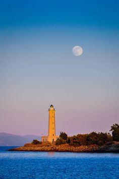 Cranae Lighthouse in Gytheion, Greece- by Discover Peloponnese