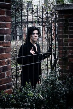 Image result for gothic male character inspiration