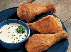 Oven Fried Chicken Drumsticks Recipe- Made this tonight for Rob's b-day… SO good and simple!