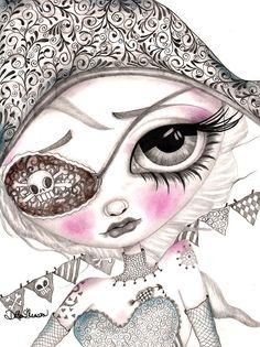 Meesha - Canvas Giclee