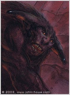 John Howe :: Illustrator Portfolio :: Home / From Hobbiton to Mordor / Cards and Such / Hill Troll Tolkien, John Howe, Fanart, King Art, Middle Earth, Lord Of The Rings, Lotr, The Hobbit, New Image