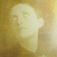 Photograph of St. Gemma in prayer