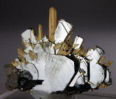 Hematite & Rutile - Brazil via Bijoux et Minéraux