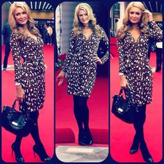 @Paris Hilton is DROP DEAD GORGEOUS with @Paris Hilton Handbags & Accessories- Bon-Ton handbag is a MUST-HAVE! via Trendabl