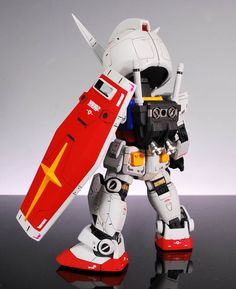 SD RX-78-2 Gundam - Custom Build   Modeled by Ganprakan         CLICK HERE TO VIEW FULL POST...