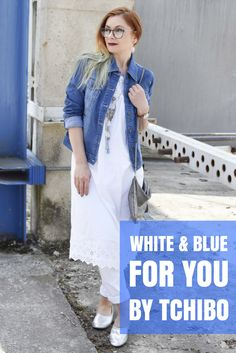 (Werbung) Ich mach Weiß und Blau :) Tchibo hat die aktuelle Sommerkollektion unter dem Motto #whiteandblueforyou am Start. Das Sommerkleid ist btw. ein Nachthemd :D  #werbung #tchibo #time4tchibo @tchibo #blauweiß #sommer #sommeroutfit #jeans #denim #jeansjacke #sommerkleid #weißeskleid #weißessommerkleid #silber #ballerina #over40style #Ü40mode #Ü40blog #over40blog #fashionover40 #40plusstyle #ü40 #mature #maturewoman #womenwithstyle #ü40blogger #ü40bloggerin #over40fashion…