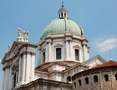 New and Old Cathedral , Brescia, Italy
