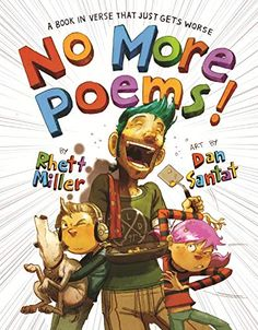 Good funny poems that kids will love! This collection of funny poetry books will get kids laughing and loving verse and funny rhymes. Including classic poetry and contemporary funny poems, this books are wonderful. Funny Poems For Kids, Dan Santat, Rhyming Poems, National Poetry Month, Shel Silverstein, Little Brothers, Poetry Books, New Books, Library Books