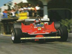Gilles Villeneuve - Ferrari - Long Beach, US Grand Prix - 1980