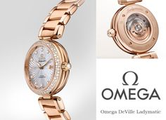 Omega DEVILLE LADYMATIC Womens Watch 425.65.34.20.55.001   Find out more @majordor.com   www.majordor.com