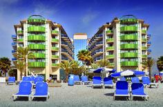 Hotel Kaktus. Prachtig hotel gelegen direct aan het strand.