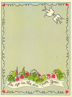 contentedsparrow: vintage valentines...the cute and the creepy