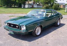 Worst Mustang ever lol but oddly enough, done right i like em. The 1978 Mustang (II)