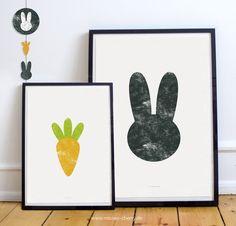 Free Printables für's Kinderzimmer,  Girlanden, Plotterfreebie & Prints | Hase & Möhre | Printable for Kidsroom