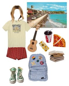 """Hawaii vacation"" by lemonboy-222 on Polyvore featuring Front Street, Lucky Brand, Casetify, Converse and Stussy"