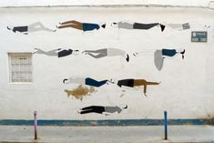 Escif  - Mural Paintings by Escif  <3 <3