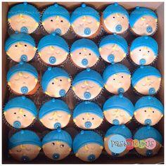 #cupcakes #babyshower #babyboy