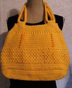 Free form crocheted bag~ По фото можно разобрать какой формы донышко