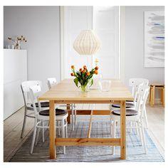 IDOLF sandalye beyaz | IKEA Yemek Odaları