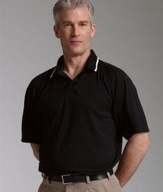 Charles River Apparel Style 3811 Men's Classic Wicking Polo - SweatShirtStation.com #menspolo #promotionalpolo #charlesriverapparel
