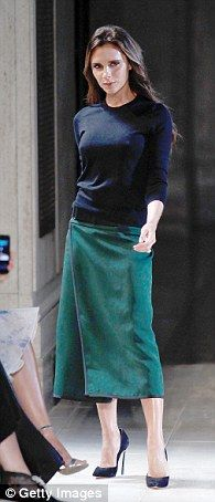 Victoria Beckham up for brand of the year #dailymail